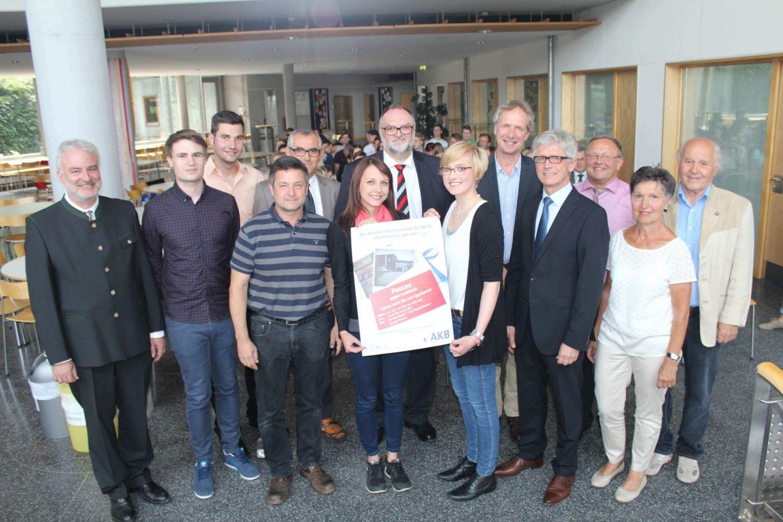 Rekord in Passau: 880 neue potentielle Stammzellspender