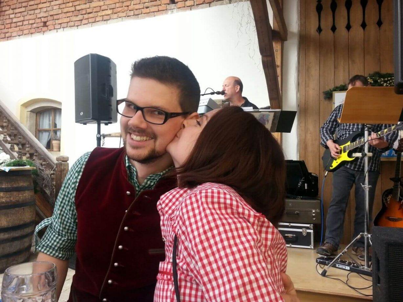 Daniel und Freundin Tanja