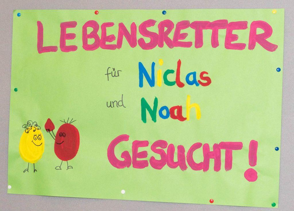 Niclas und Noah brauchen Stammzellspender