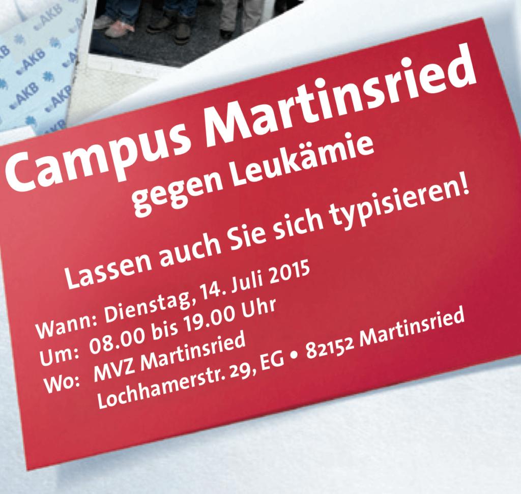 Campus (MVZ) Martinsried gegen Leukämie