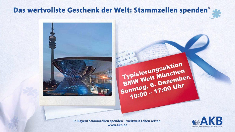 Typiserungsaktion BMW Welt Stiftung AKB