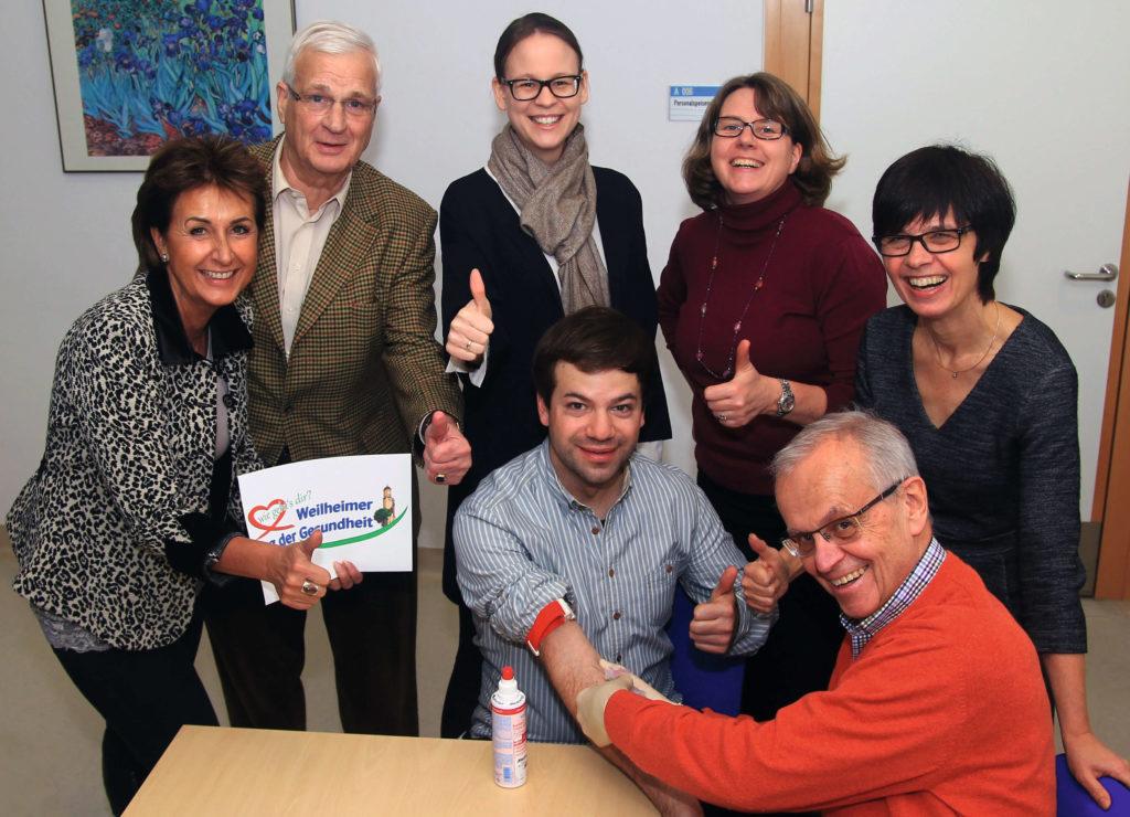 Gegen Leukämie in Weilheim