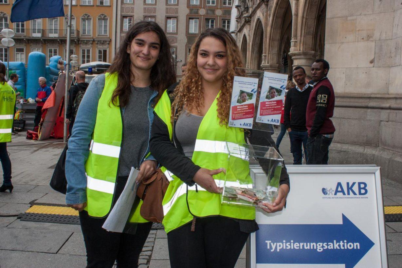 1.000 neue Spender - Riesenerfolg für Noah und viele andere Leukämiepatienten auf dem Münchner Marienplatz