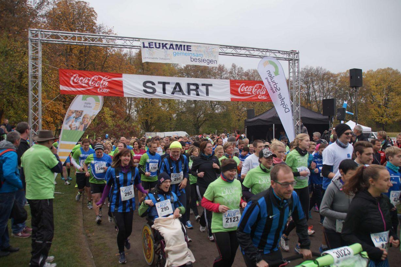 Lauf gegen Leukämie
