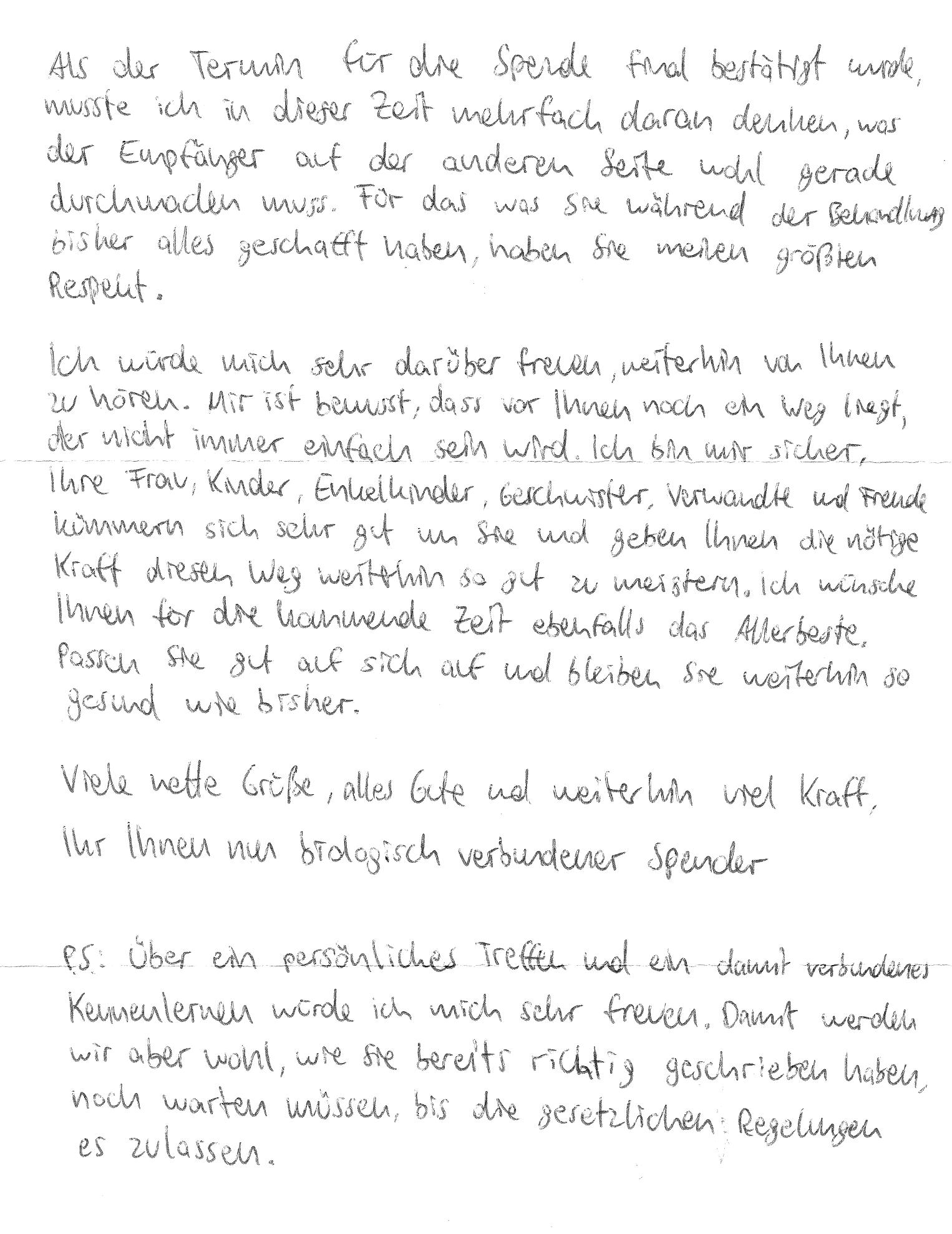 Schreiben brief an muster freund einen Einfach mal