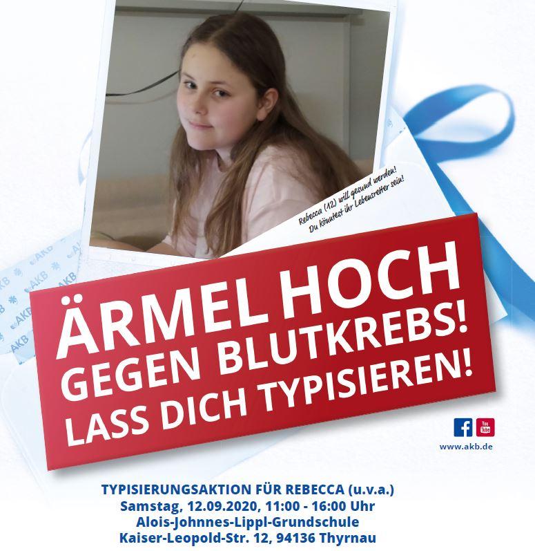 AKB Rebecca Hilft gegen Leukämie