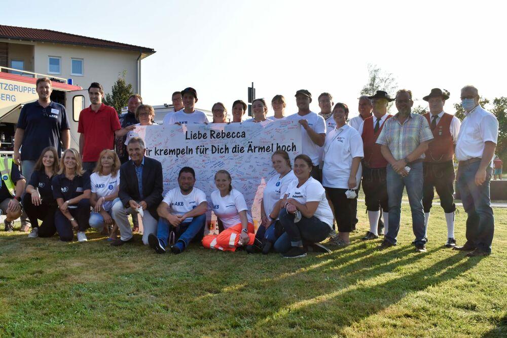AKB Team bei der Typisierungsaktion für Rebecca in Thyrnau