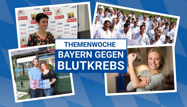 Themenwoche Bayern gege Blutkrebs