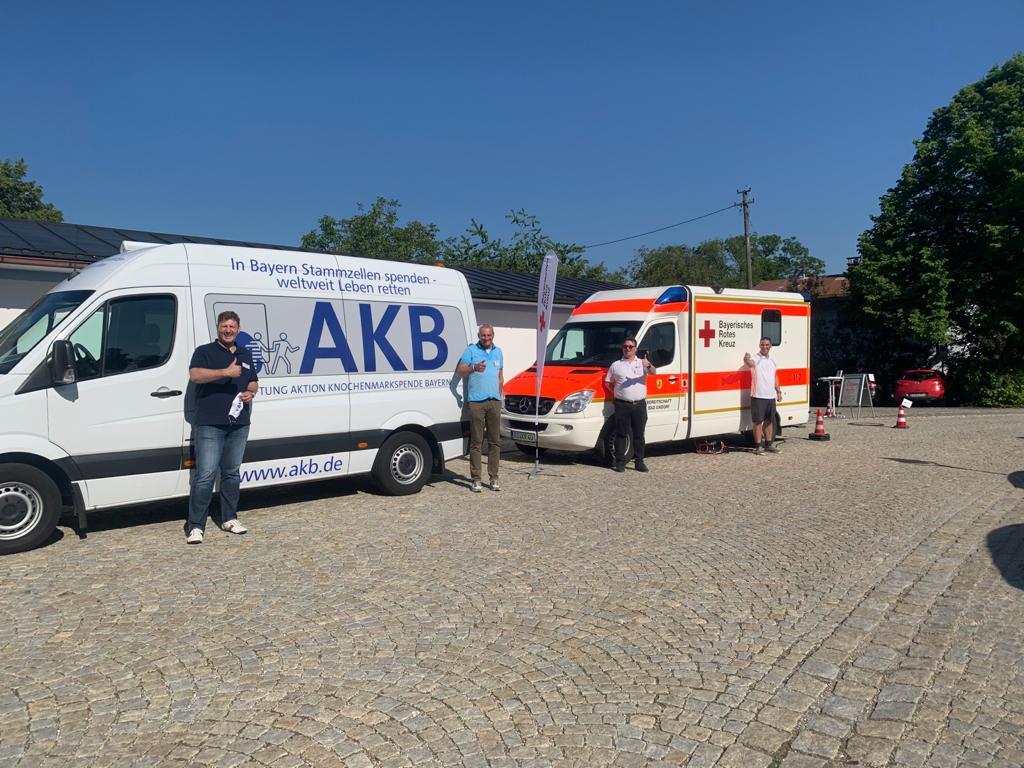 BSD und AKB Bayern gegen Leukämie